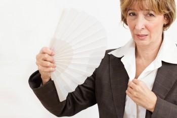 Im Sommer: Kommen Sie nicht ins Schwitzen, die Kleidung kann sonst Flecken bekommen.